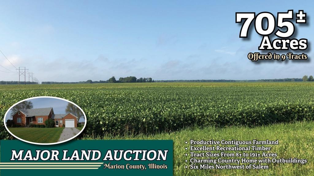 Upcoming AuctionMarion County, Illinois