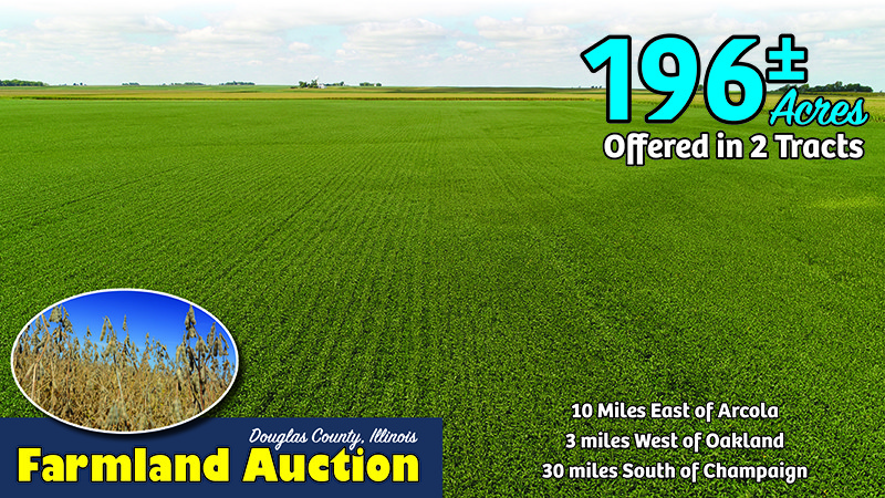 Upcoming AuctionDouglas County, IL