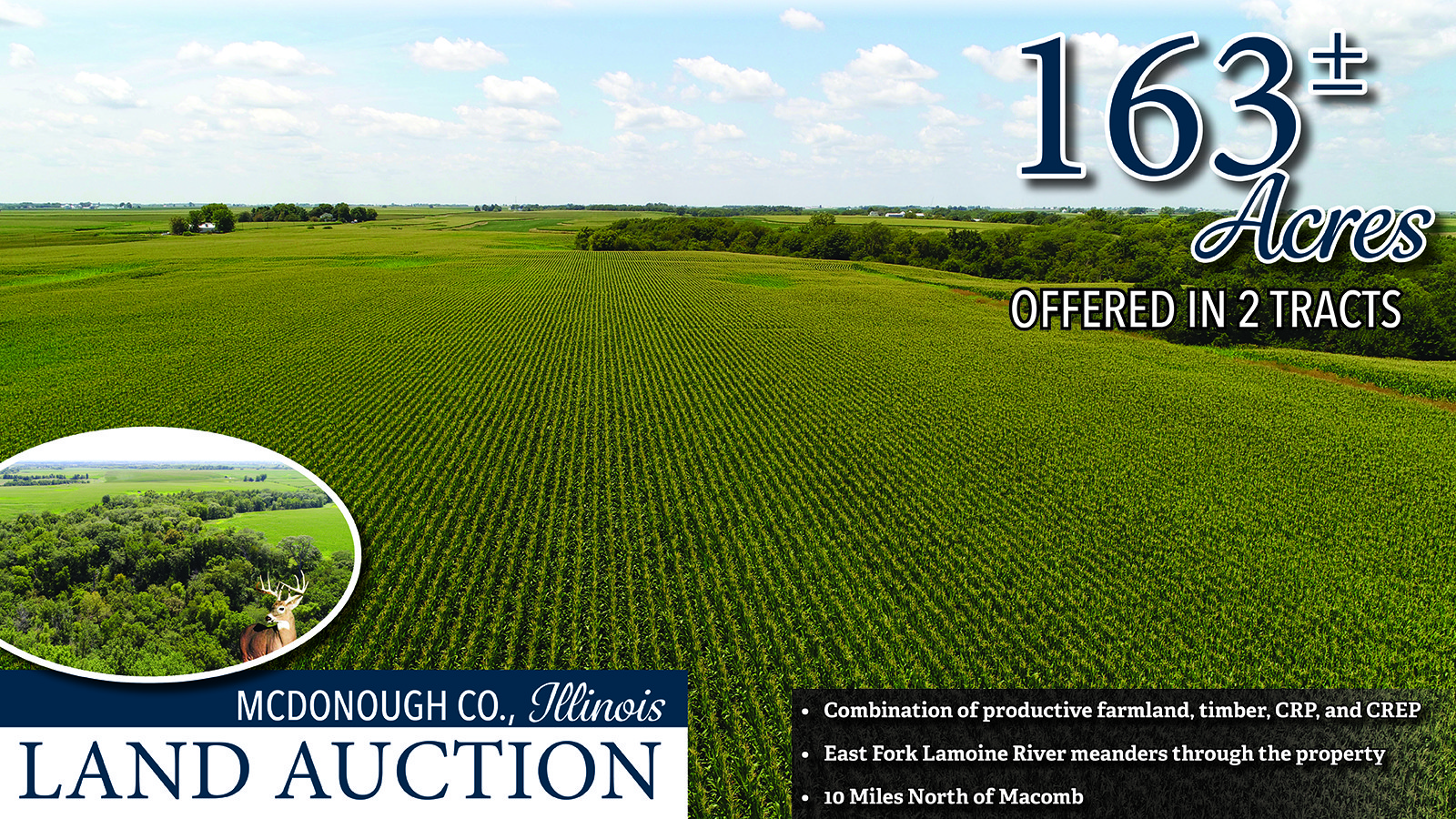 Cover Photo - mcdonough co farmland auction Illinois