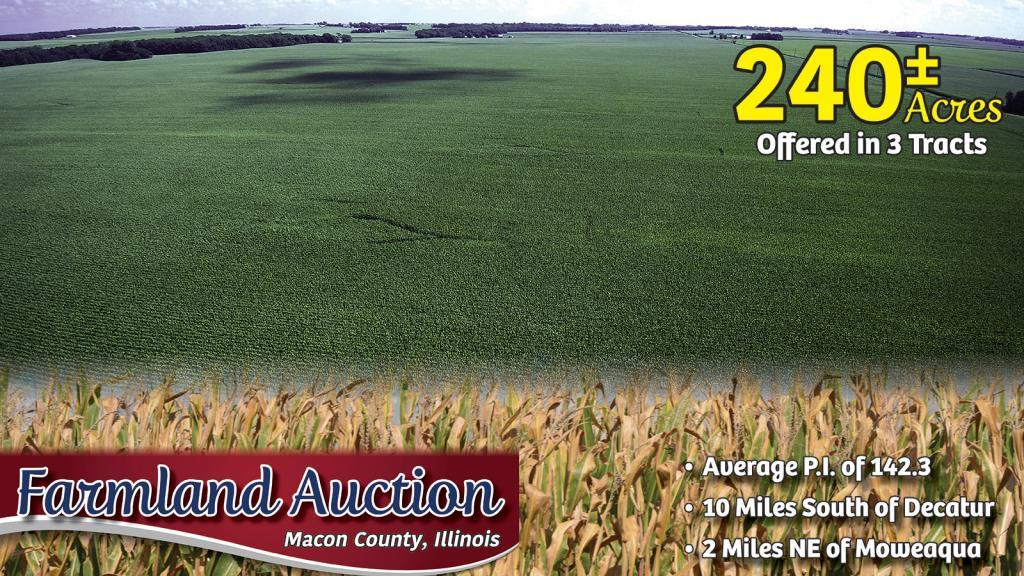 Upcoming AuctionMacon County, IL