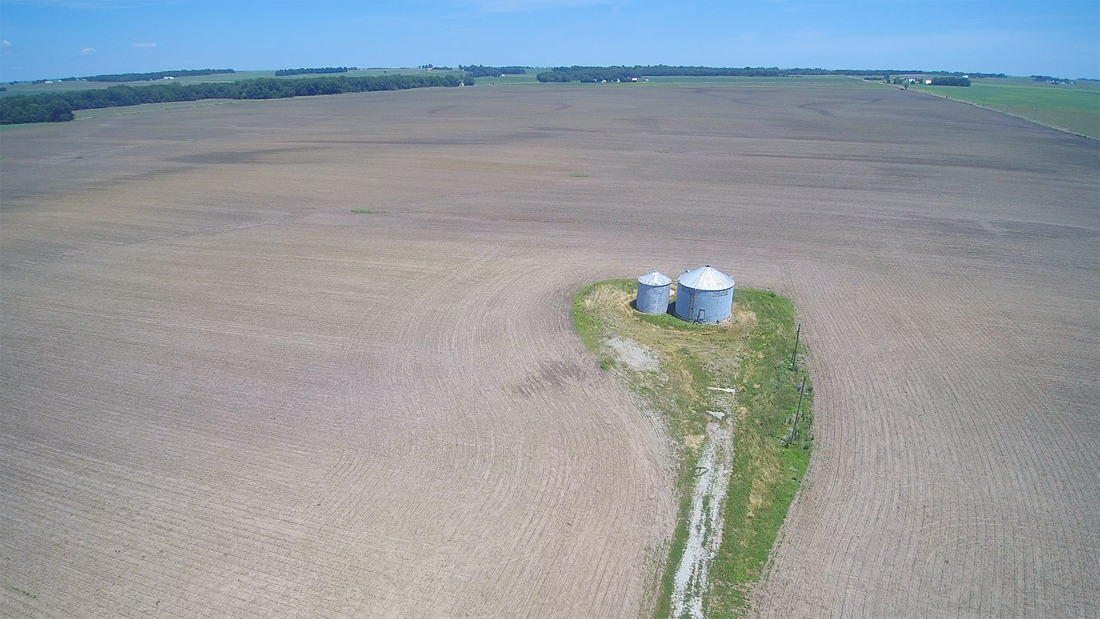 Drone 4 - MWA Auctions & Real Estate | Macon Co Farmland Auction 240 Ac - Dec 12 2019