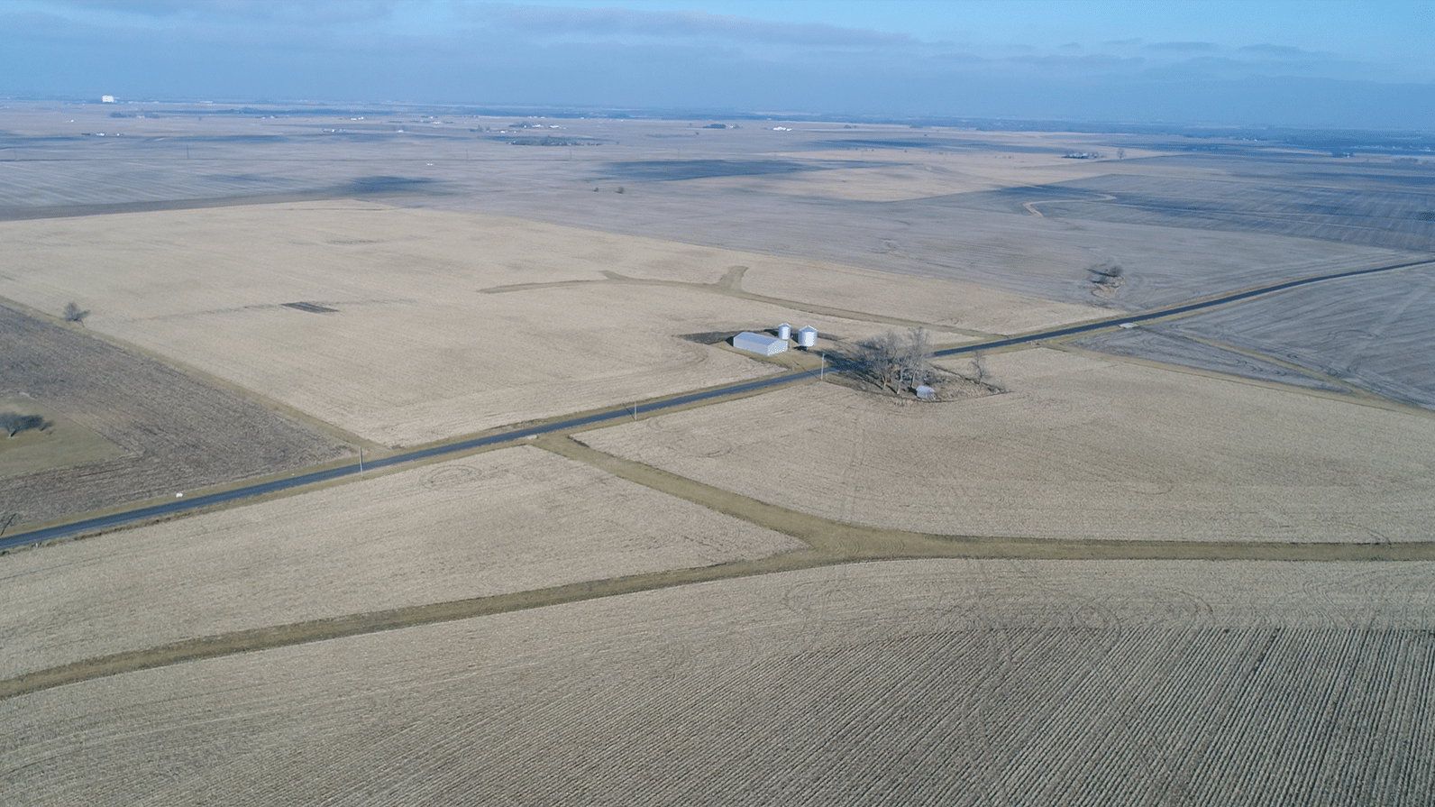 Champaign Co Auction 208 Ac - Feb 18 2020 - Looking Northeast