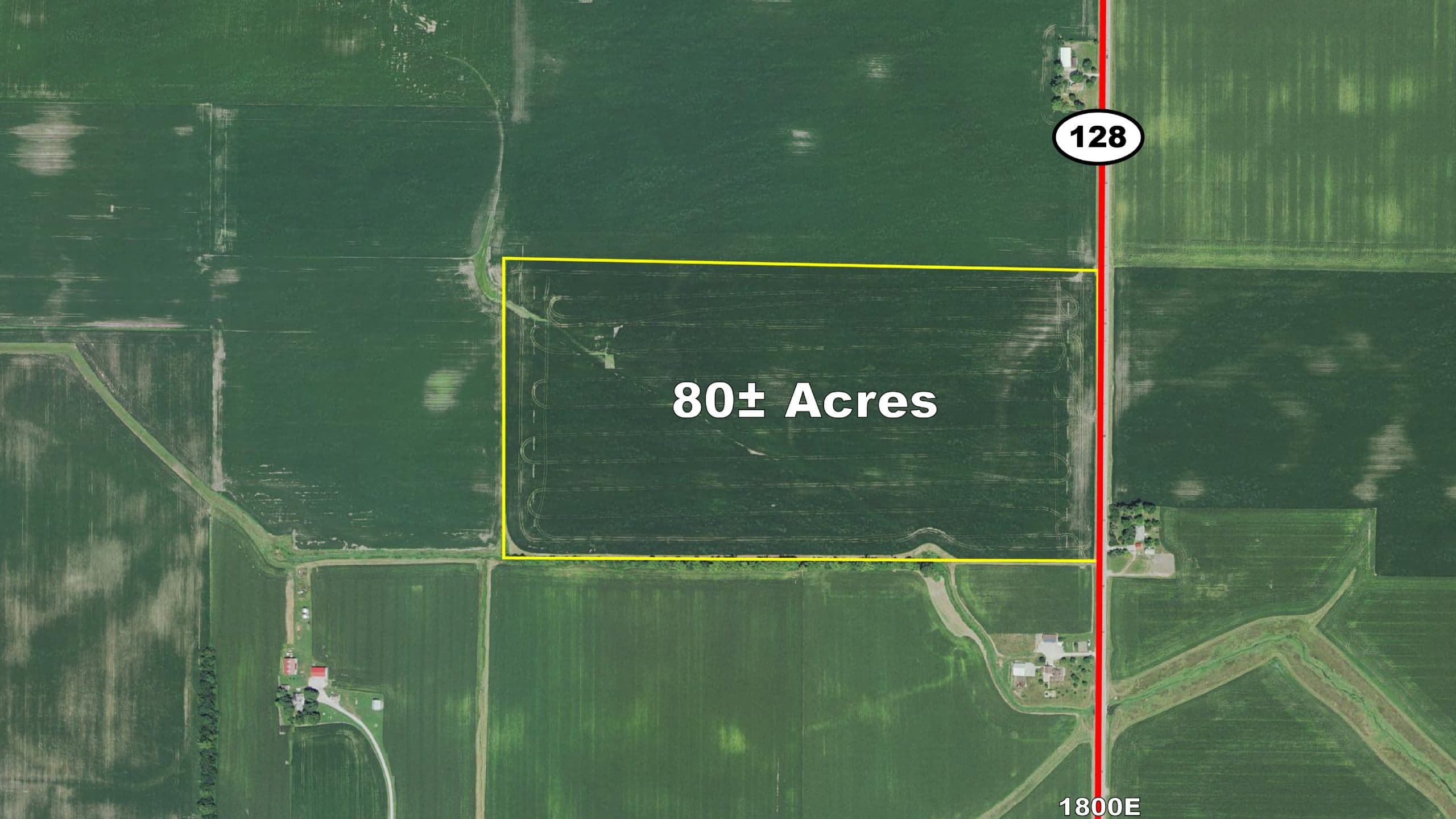 New ListingShelby County, IL – 80 Acres - Sale Pending
