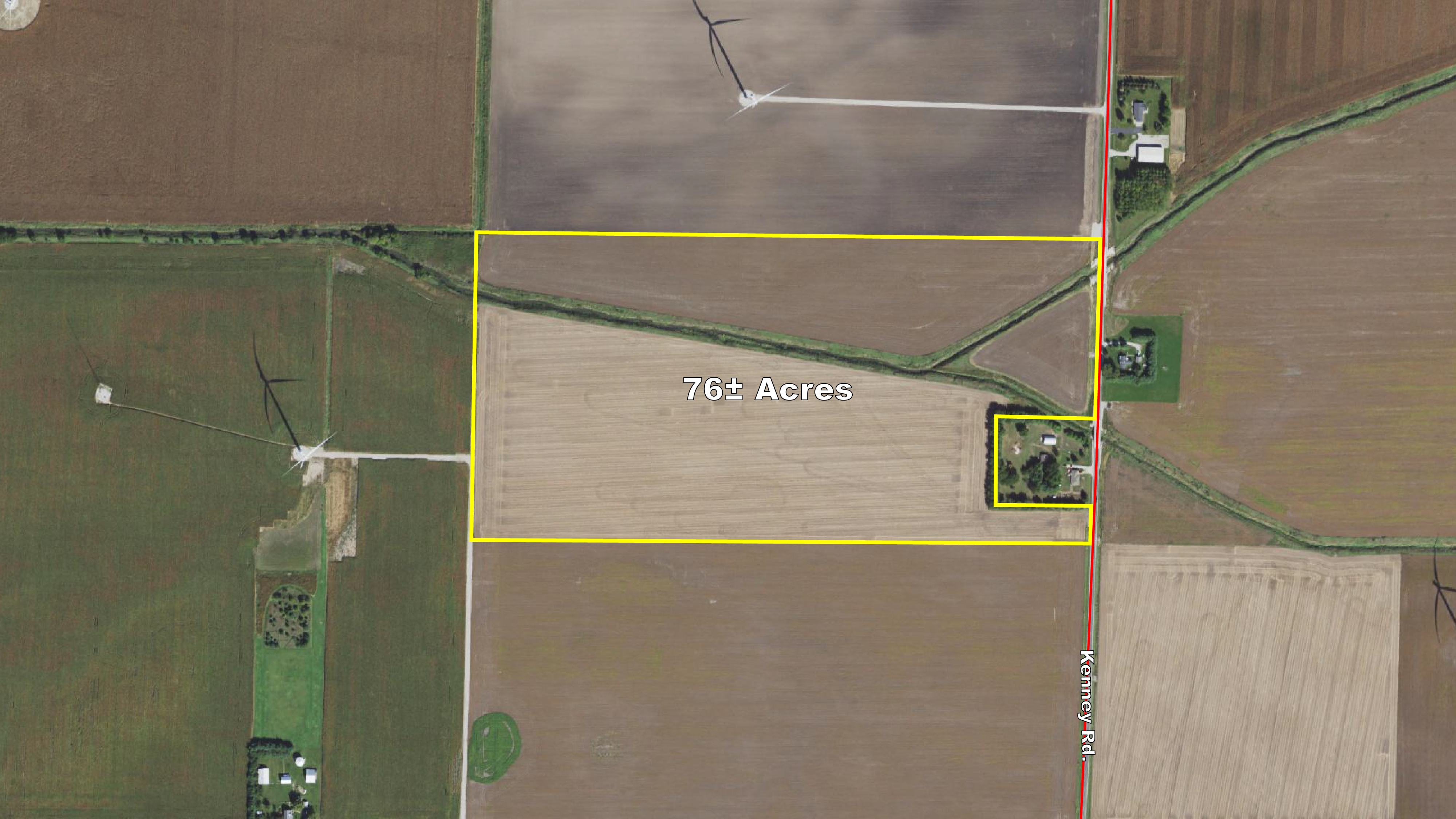 New ListingMacon County, IL - 76± Acres