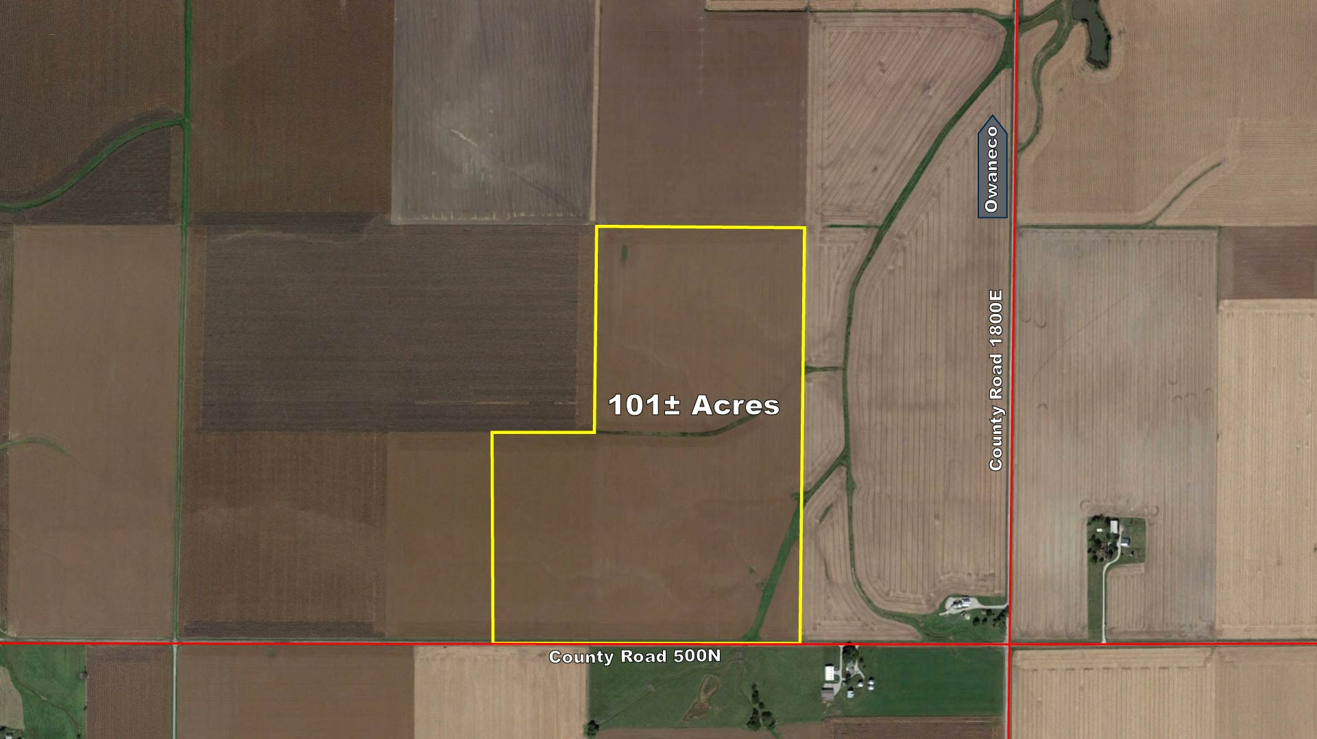 New ListingChristian County, IL - 101± Acres (Under Contract)
