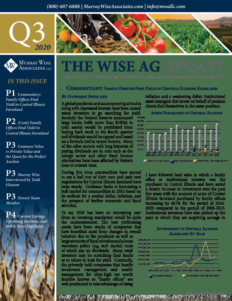 MWA Newsletter Third Quarter 2020