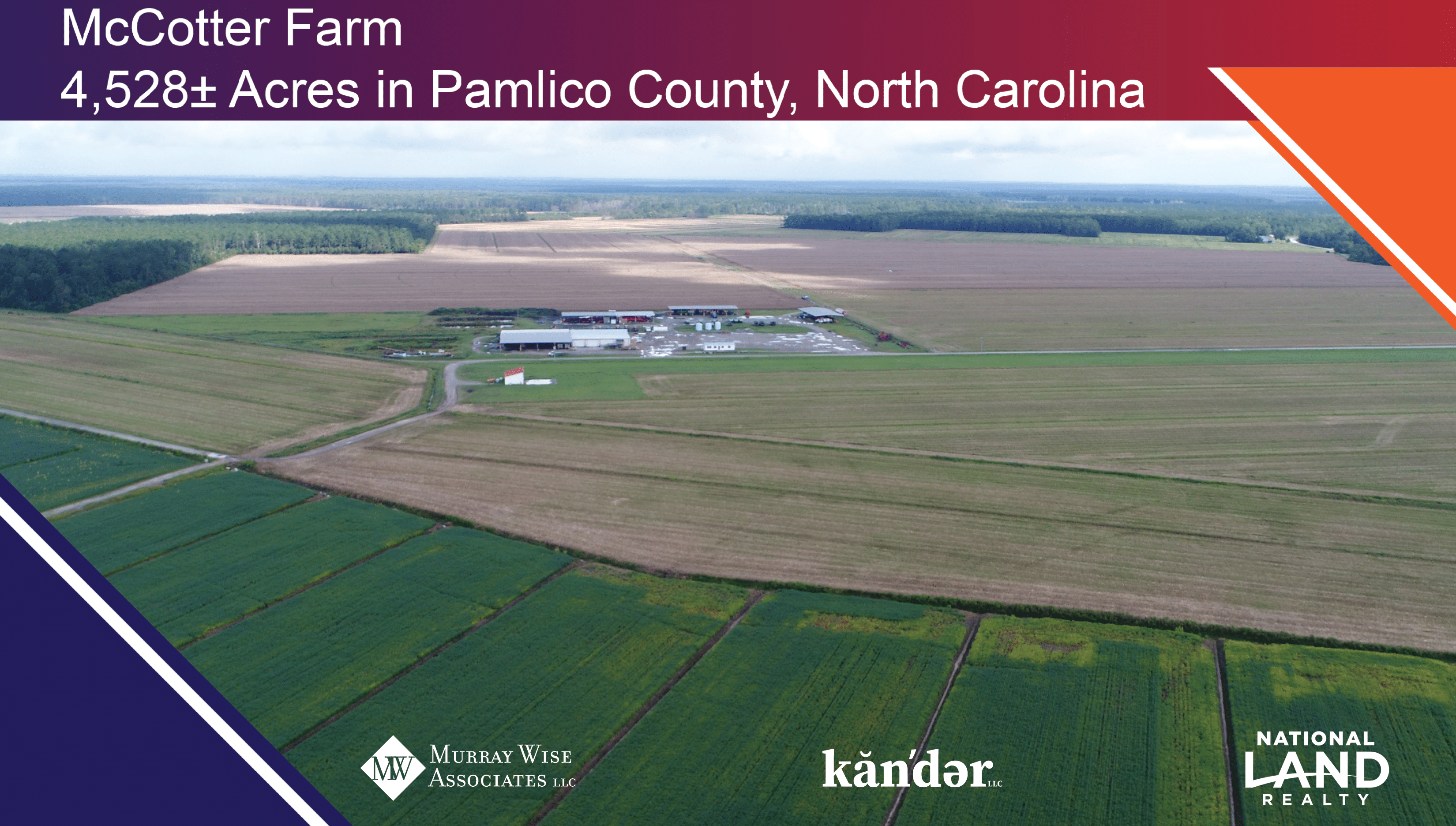 Acquisition Opportunity4,528± Acres - Pamlico County, NC