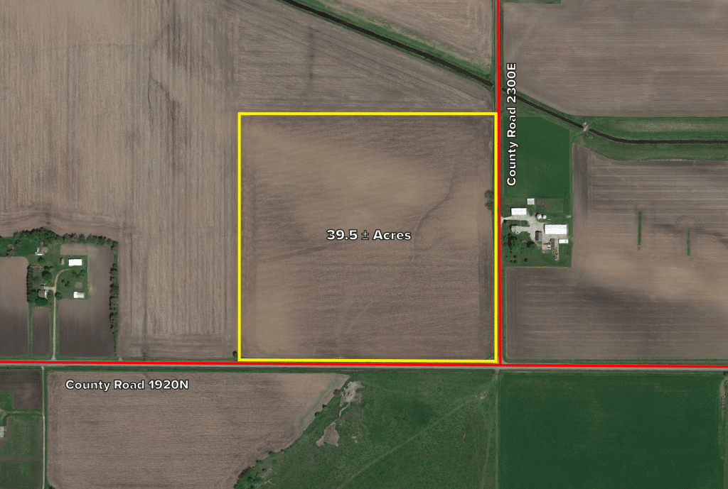Upcoming AuctionHenry County, IL - 39.5± Acres