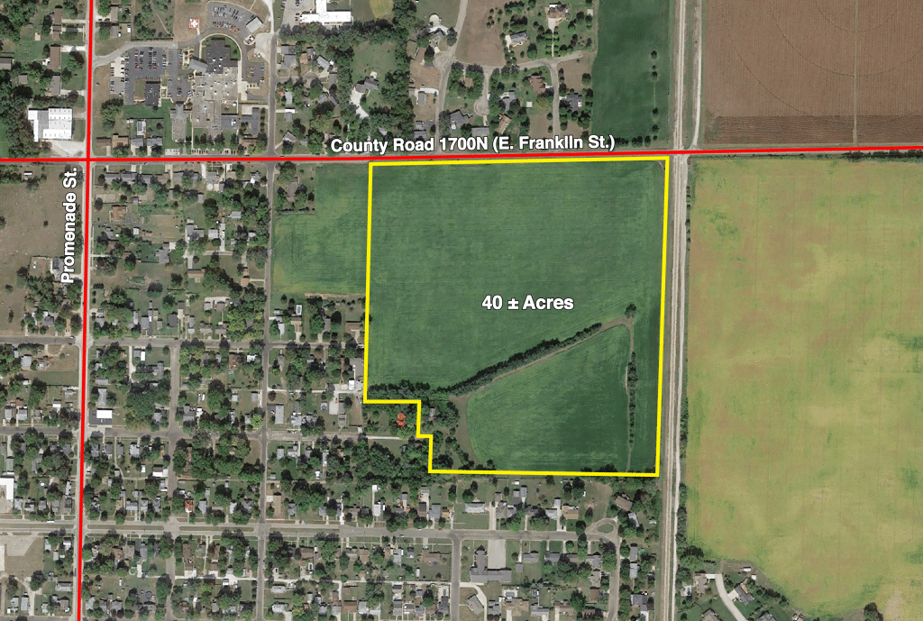 Upcoming AuctionMason County, IL - 40± Acres
