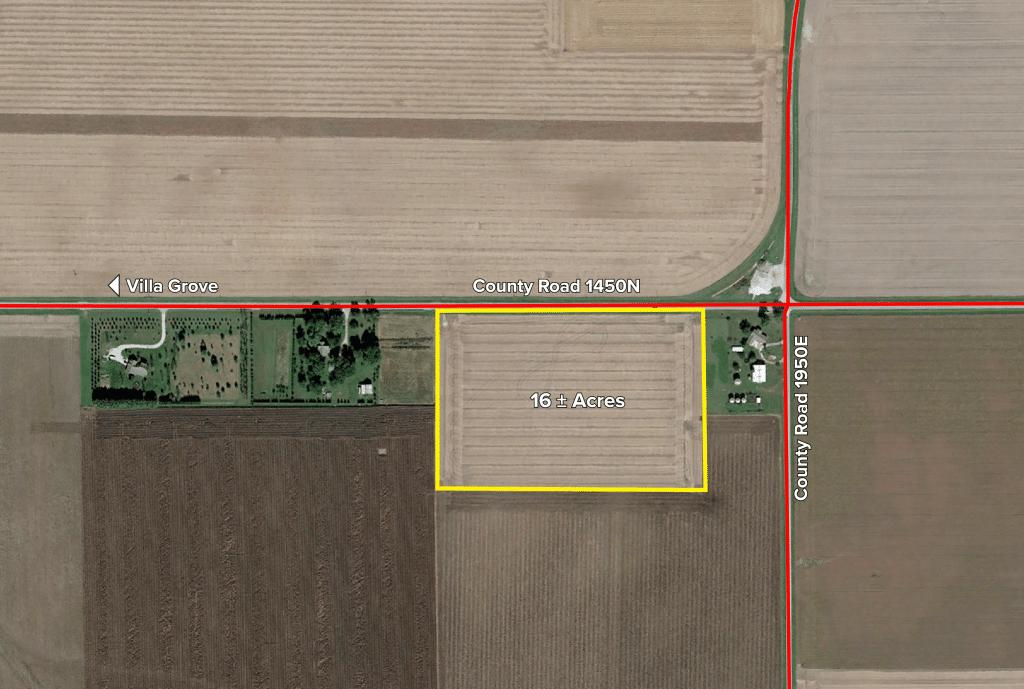 Upcoming AuctionDouglas County, IL - 16± Acres
