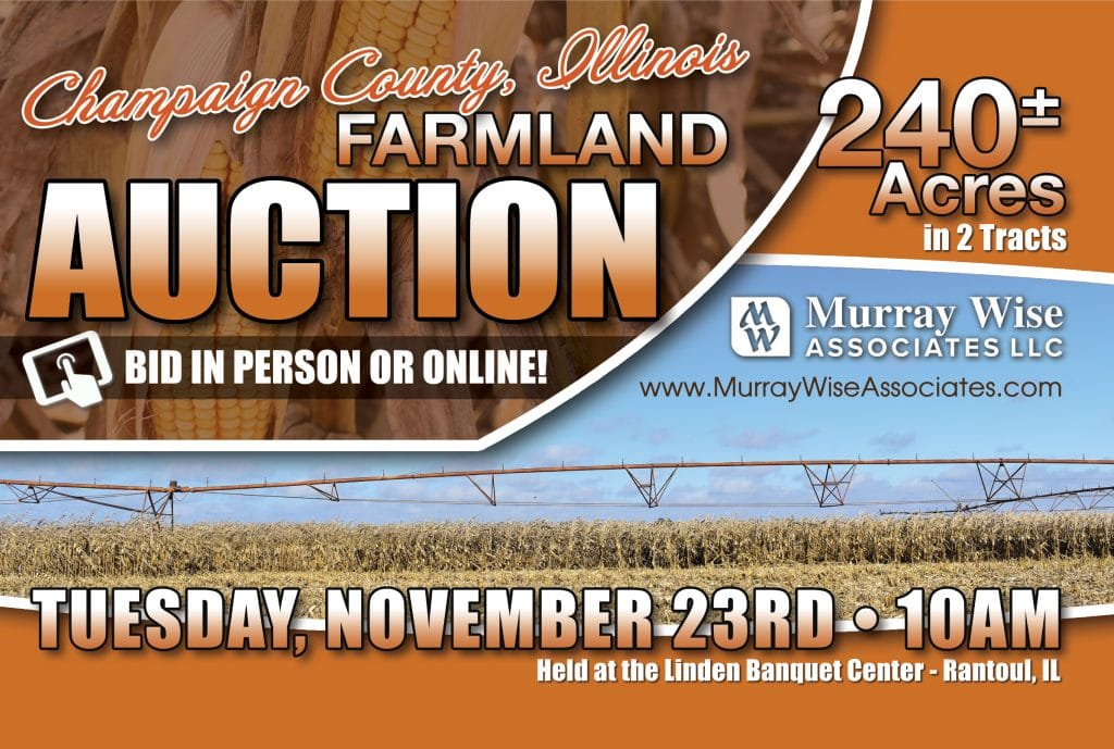 Upcoming AuctionChampaign County, IL - 240± Acres
